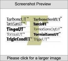 TingaUT Family PC Software tool